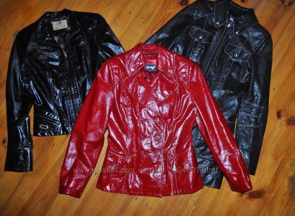 Шкіряна куртка р. S, M