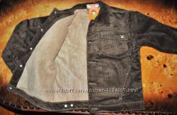 Вельветова куртка Одягайко, Україна на хлопчика 9 р. -134 см