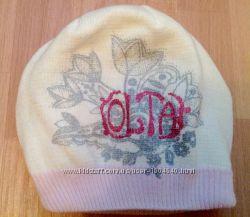Теплая шапка для девочки 9-12 лет