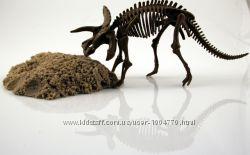 Кинетический песок - раскопай динозавра