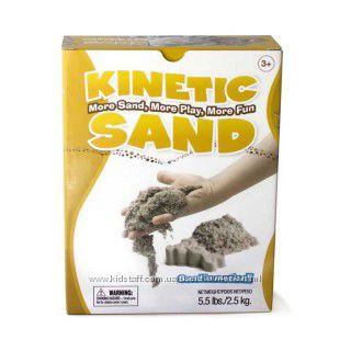 Кинетический песок Швеция, 2. 5 кг в коробке