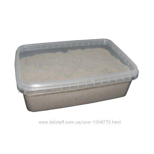 Кинетический песок Швеция, 2 кг в контейнере