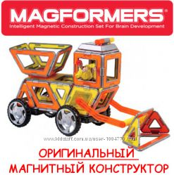 Магнитный конструктор Magformers Cruiser XL Строители 37 элементов