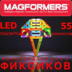 LED конструктор как у Фиксиков Magformers LED 55 элемент