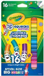 Crayola, 16 мини маркеров легко смываемых