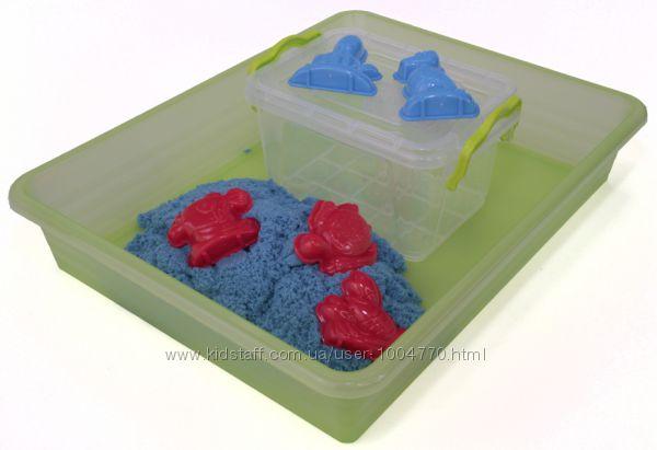Набор с цветным кинетическим песком 1 кг