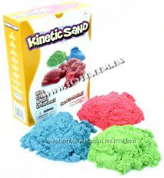Цветной кинетический песок 3в1