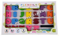 Буквы-карандаши  стирательная резинка Flexcils