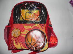 Оригинальный рюкзак для мальчиков с баскетбольным кольцом и мячиком США