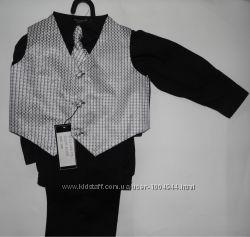 Классный стильный костюм 4 в 1 США на мальчика 2-3 года