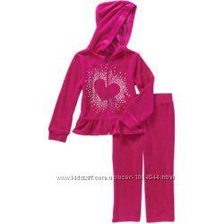 Классный тёплый спортивный костюмй США на девочку 2