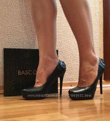 Кожаные туфли Basconi 38 размер