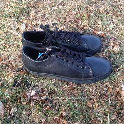 Черные кожаные туфли для праней 37 р