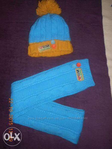 Шапка, шарф, комплект