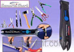 Точилка для ножей и ножниц Samurai Shark Самурай Шарк
