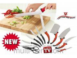 Превосходный набор кухонных ножей Contour Pro Knives Контр Про