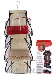 Органайзер для хранения сумок на вешалке
