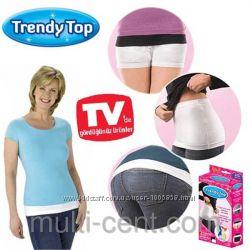 Невидимый корректирующий пояс Trendy top Тренди Тор 2 пояса в комплекте