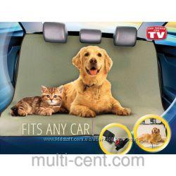 Защитный коврик в машинe для собак PetZoom