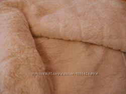 Новое шерстяное плед-одеяло
