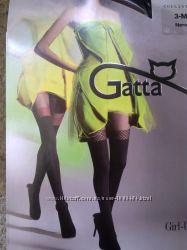 колготы-имитация чулков GATTA