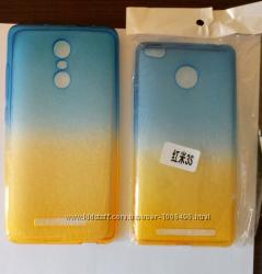 Чехол бампер для Xiaomi redmi note 3 Стекло в подарок