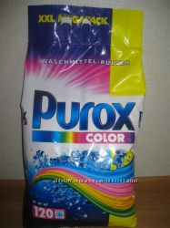 Стиральный порошок Purox 10 кг. Color 120 стирок  Пурокс  Германия