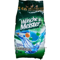 Стиральный порошок Wasche Meister 10, 5кг, 140 стирок.