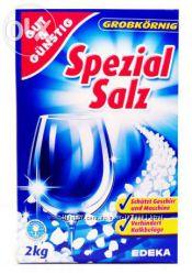 Соль для посудомоечных машин G&G Spezial Salz 2 кг Германия