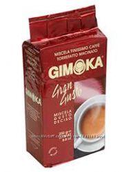 Кофе молотый Gimoka Gran Gustо 250гр. Италия Джимока  черный кофе