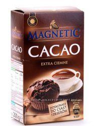 Какао порошок Magnetic cacao extra ciemne 200гр. Польша