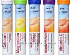 Шипучие витамины DM Das Gesunde plus 20шт. Германия