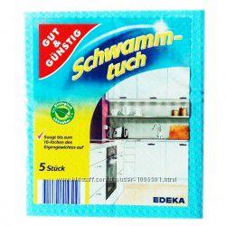 Мочалки - салфетки для уборки Gut & Gunstig 5 шт Германия