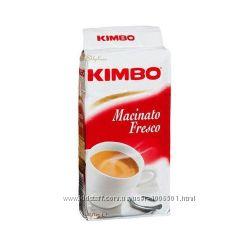 Молотый кофе Kimbo Macinato Fresco 250гр. Италия