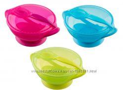 Набор посуды миска на присоске и ложка Akuku A0304