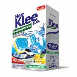 Таблетки для посудомоечной машины Herr Klee Alles in 1 102шт. Германия