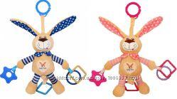 Игрушка плюшевая с вибрацией Baby Mix STK-17504 P Кролик