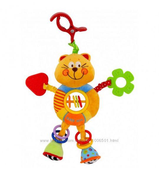 Плюшевая игрушка подвеска Baby Mix 8562-24С Котик