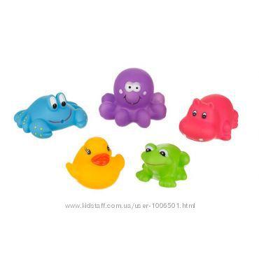 Игрушки для купания Akuku A0363 Веселые зверята