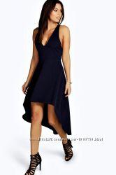 Ассиметричное платье клеш Boohoo