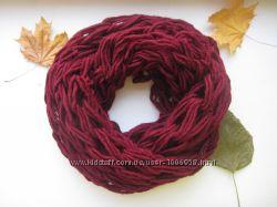 Модный шарф снуд хомут