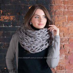 Модный снуд хомут шарф