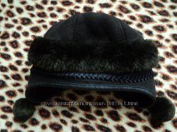 Зимняя шапка под дубленку