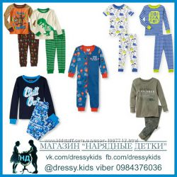 Пижама на 2, 3, 4, 5, 6 л Childrens Place, Carters, Old Navy Walmart Мальчи