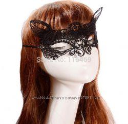 Красивая маска под пеньюар