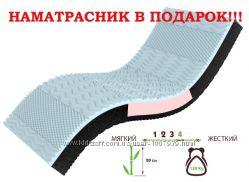 Бамбуковый ортопедический матрас NeoBlue Take&Go Bamboo купить в Киеве