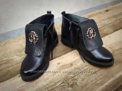Ботинки RoB. Cavali зима и осень кожа и замша разные цвета