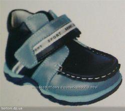 Детские демисезонные ботинки для мальчиков B&G