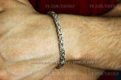 Серебряный браслет Византия, Королевский