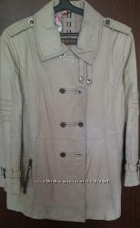 Стильная кожаная-куртка пиджак